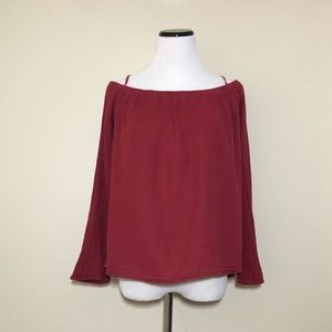 Cloth & Stone Off the Shoulder Top